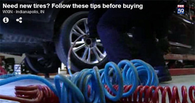 In the News: Tire Buying Tips